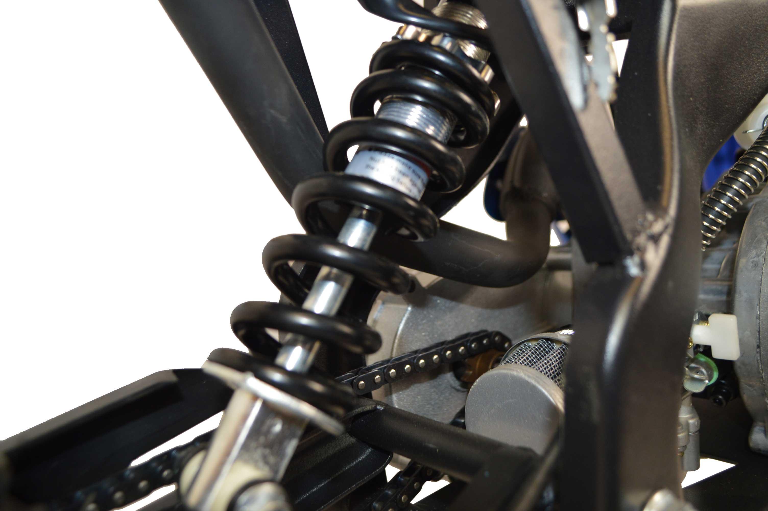 Mono shock suspension
